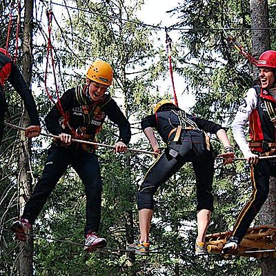 Titelbild für Kletterwald Garmisch-Partenkirchen