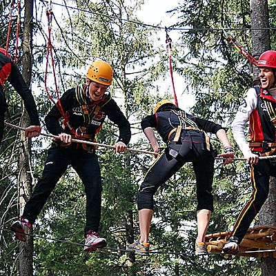 Cover image for Ropes course Garmisch-Partenkirchen