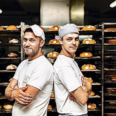 Titelbild für Die Bäcker Brüder