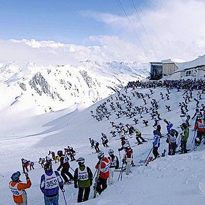 Titelbild für Die Wiege des alpinen Skilaufs