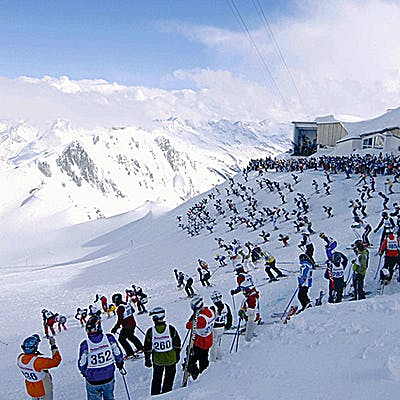 Cover image for The cradle of alpine skiing