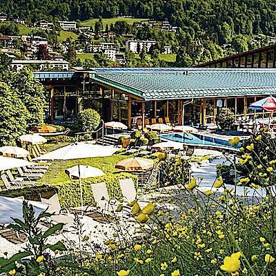 Titelbild für Watzmann Therme Berchtesgaden