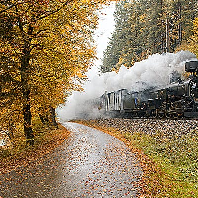 Titelbild für Nostalgie auf Schienen