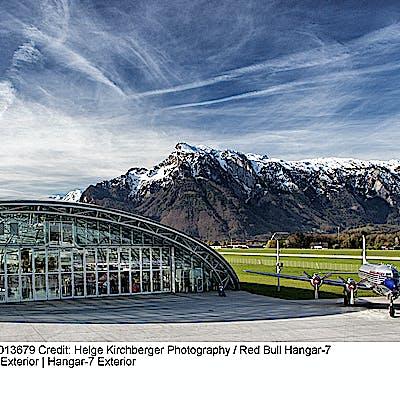 La Loupe Salzburg Hangar 7 exterior 75j4cni55