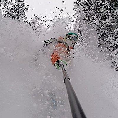 Snowboarder POV POLE 759hbxckr