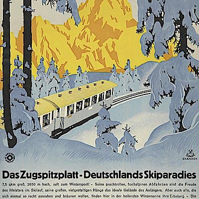 La Loupe Zugspitzposter GAP 4 75eccrfb6