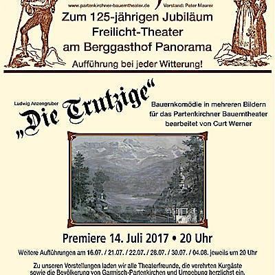 La Loupe Bauerntheater Partenkirchen Jubilaumsplakat 75ecae4xm