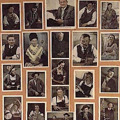 La Loupe Bauerntheater Partenkirchen Spieler von 1952 75ecae4xm