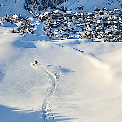 Titelbild für Zuhause am Arlberg