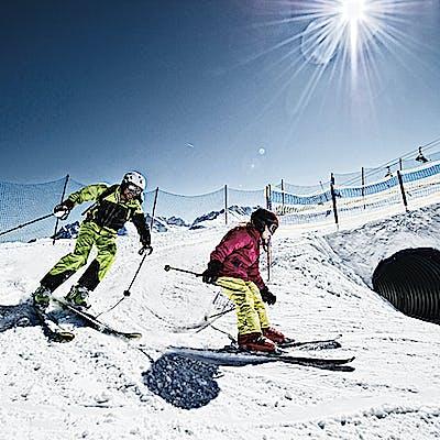 Titelbild für Mit Sicherheit viel Skispaß für Kinder