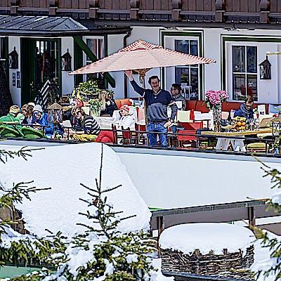 Titelbild für Schmelzhof Sonnenterrasse