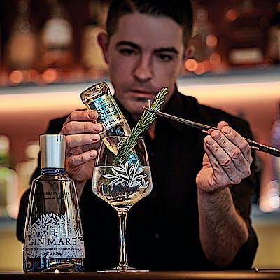 Titelbild für Die Blaue Bar
