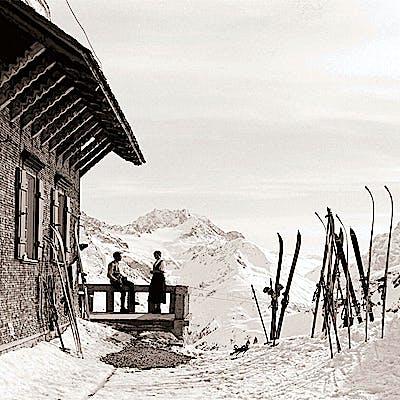 Einzigartige Bergfotografie mit Geschichte