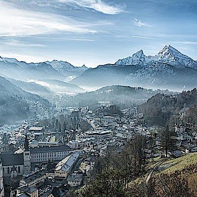 Titelbild für Berchtesgaden das Berg und Tal durchzogene (Urlaubs-)Paradies