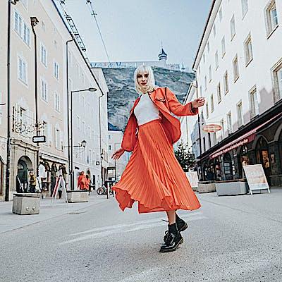 Open-Air Shopping-Erlebnis Salzburger Altstadt