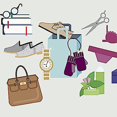 Titelbild für Shoppen & Genießen