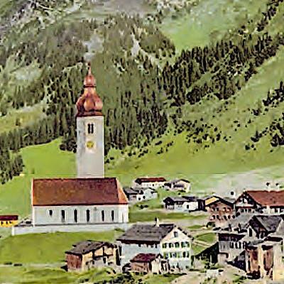 """Titelbild für Sonderausstellung """"Arlberg: Pass.Region.Marke"""""""