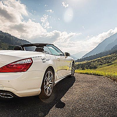 Cover image for Driving pleasure amidst stunning alpine scenery