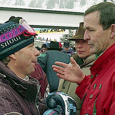 C Gemeindearchiv Lech 1993 12 22 Super G Herren Lech Foto Felix Weishaupl 11 c Felix Weishaupl Gemeindearchiv Lech