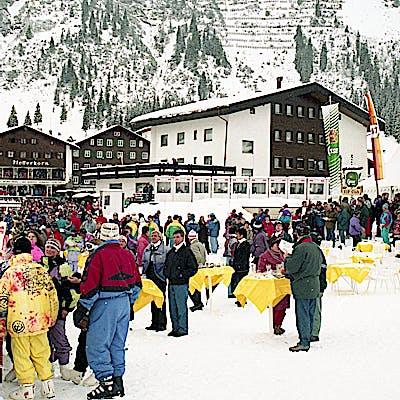 C Gemeindearchiv Lech 1993 12 22 Super G Herren Lech Foto Felix Weishaupl 4 c Felix Weishaupl Gemeindearchiv Lech