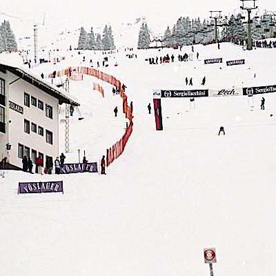C Gemeindearchiv Lech 1993 12 22 Super G Herren Lech Foto Felix Weishaupl 45 c Felix Weishaupl Gemeindearchiv Lech