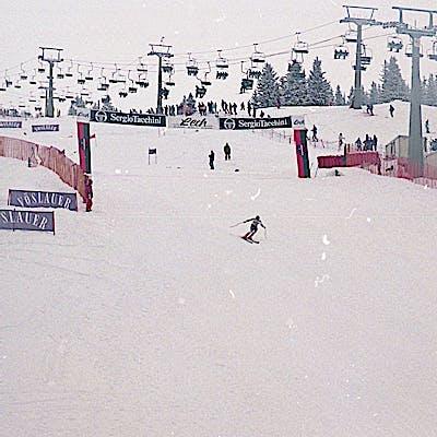 C Gemeindearchiv Lech 1993 12 22 Super G Herren Lech Foto Felix Weishaupl 53 Weltcup Lech c Felix Weishaupl Gemeindearchiv Lech