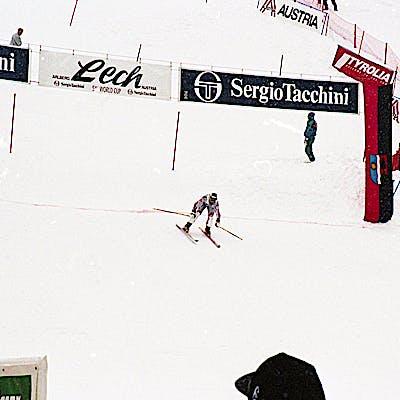 C Gemeindearchiv Lech 1994 12 Herren Slalom Lech Foto Felix Weishaupl 15 Weltcup Lech c Felix Weishaupl Gemeindearchiv Lech
