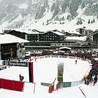 C Gemeindearchiv Lech 1994 12 Herren Slalom Lech Foto Felix Weishaupl 21 Weltcup Lech c Felix Weishaupl Gemeindearchiv Lech