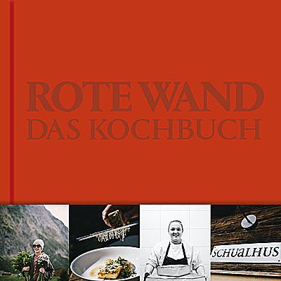 Titelbild für Rote Wand Kochbuch von Joschi Walch