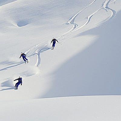 Titelbild für Freeriding& Guiding am Arlberg