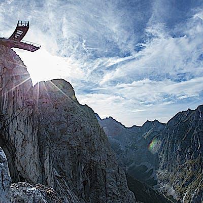 Titelbild für Zwischen Himmel und Höllental