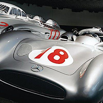 Titelbild für Magische Momente - 120 Jahre Motorsport