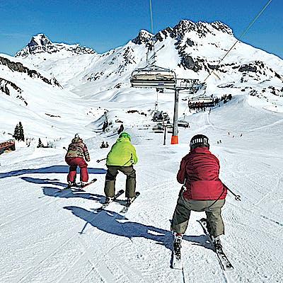 Titelbild für Rüberjetten in die neue Skidimension