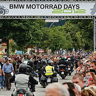 Titelbild für BMW Motorrad Days 2013 – Party der Superlative